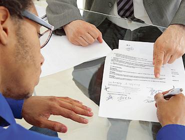 contrat d'alternance